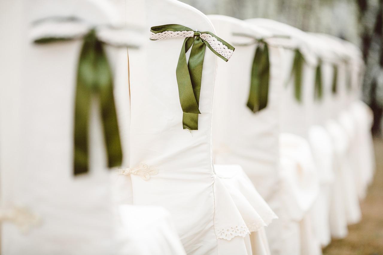 Wedding Chairs Bows Ceremony Event  - jeremywongweddings / Pixabay